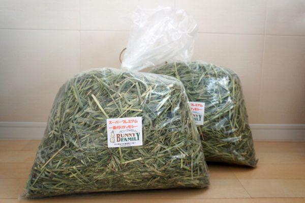 チンチラの飼育方法 主食の牧草のおすすめ バニーファミリー本店さんのオリジナルチモシー1番刈り
