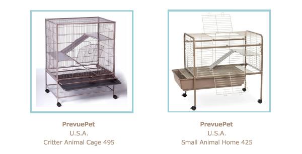 prevue pet cage 床のつくり