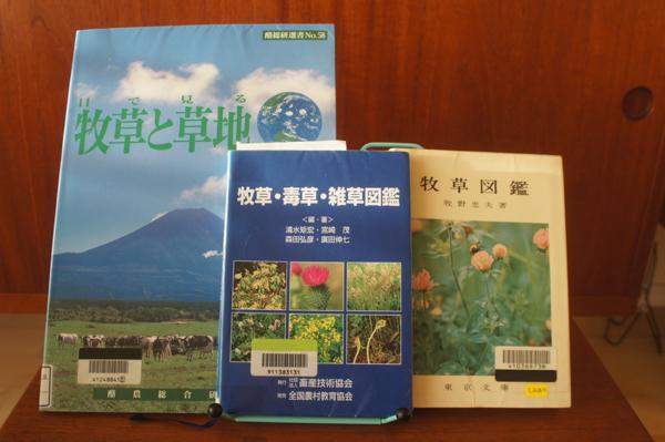 チンチラのティモの主食である牧草のことを調べようと借りてみた本
