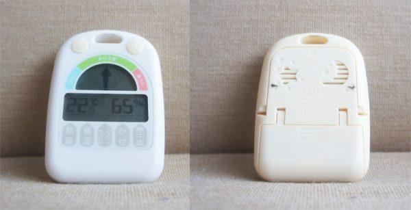 チンチラのティモの温湿度計 ノア精密 デジタル温湿度計 メリー