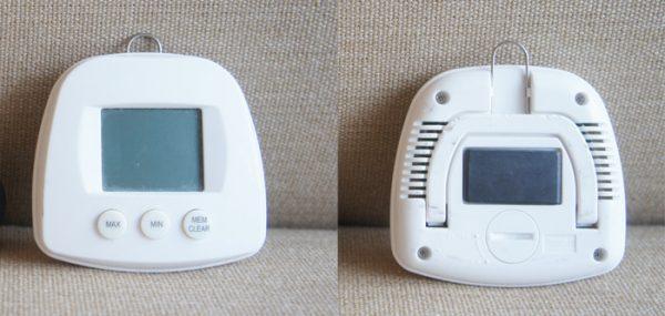 チンチラのティモの初代温湿度計 Smartec